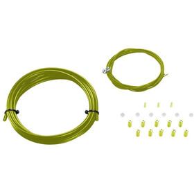 KCNC Road Brake Housing & Wire Kit, verde